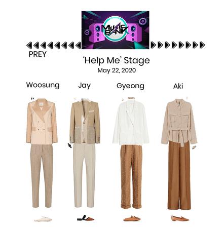 PREY//'Help Me' Music Bank Stage