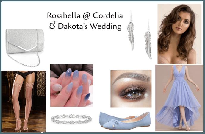 Rosabella @ Cordelia & Dakota's Wedding