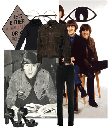John lennon rubber soul jacket