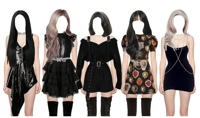 Kpop Music Awards Inspired Outfits