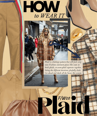 how to wear it: Plaid