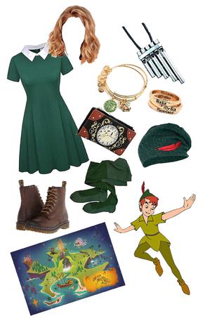 Peter Pan Disney bound