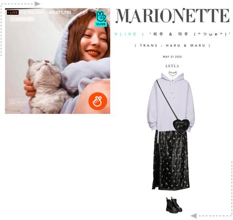 마리오네트 (MARIONETTE) - [LEYLA] VAPP LIVESTREAM