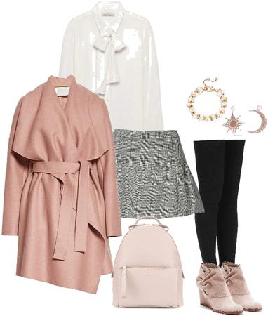 OC: Mira (School clothes/Winter)