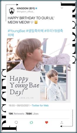 {KINGDOM} Happy YoungBae Day!!