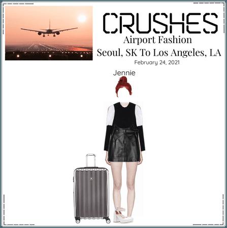 Crushes (호감) -  [Jennie] Airport Fashion