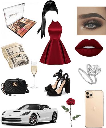 rich girl look