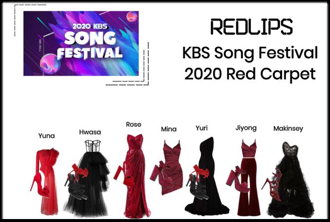 RedLIPS KBS Song Festival 2020