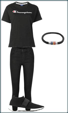 black monochromatic