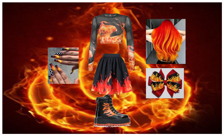 fire outfit