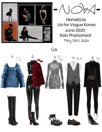 -NOVA- Lia for Vogue Korea June 2020