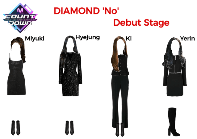 DIAMOND M Countdown Debut Stage