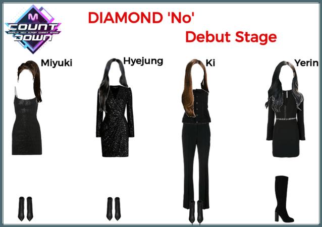 DIAMOND M Countdown Debut Stage