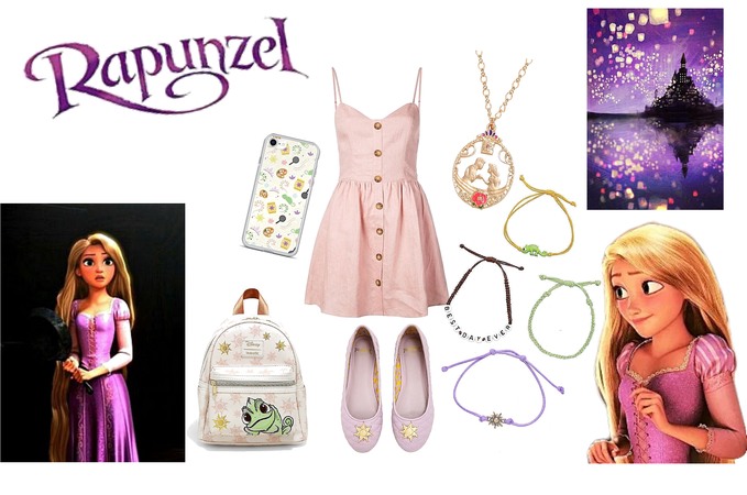 Rapunzel inspired outfit