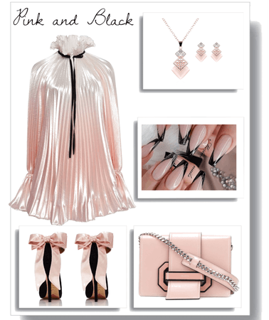 Summer Pink and Black