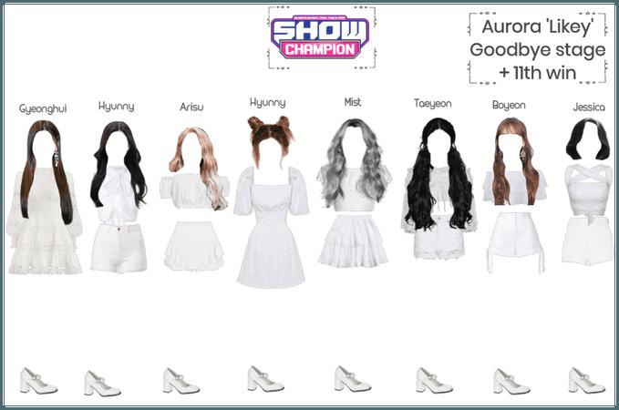 Aurora 'likey' Goodbye stage
