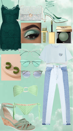 Mint n green love 💚💚💚