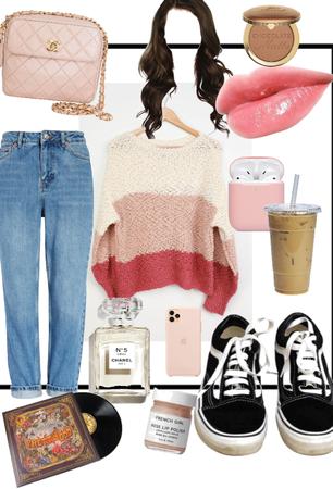 pink sweater 💕
