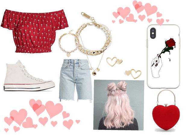 Cupid's Summer look 💕💕💕💕💕💕💕💕💕💕💕