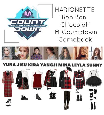 {MARIONETTE} 'Bon Bon Chocolat' M Countdown Comeback Show