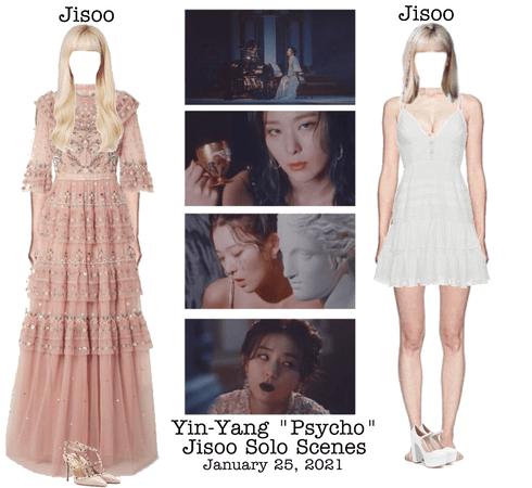 """Yin-Yang """"Psycho"""" MV Jisoo Solo Scenes"""