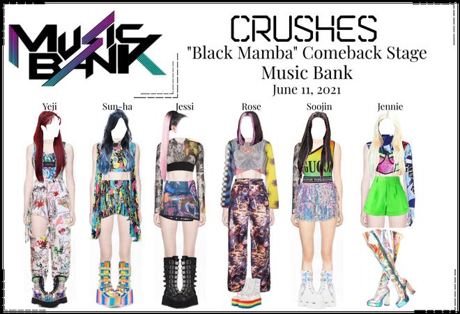 """Crushes (호감) """"Black Mamba"""" Comeback Stage"""