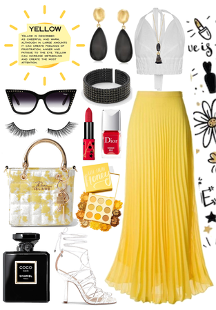 •Yellow Spring Glam•