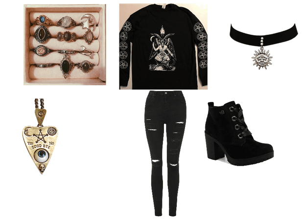 Wiccan Outfit 2.0