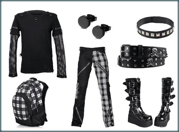 Punk Classic in Plaid