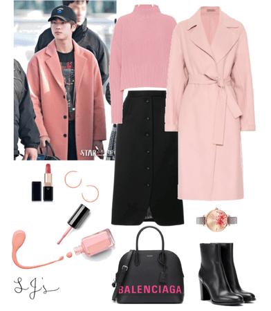 jin's gf winter outfit idea