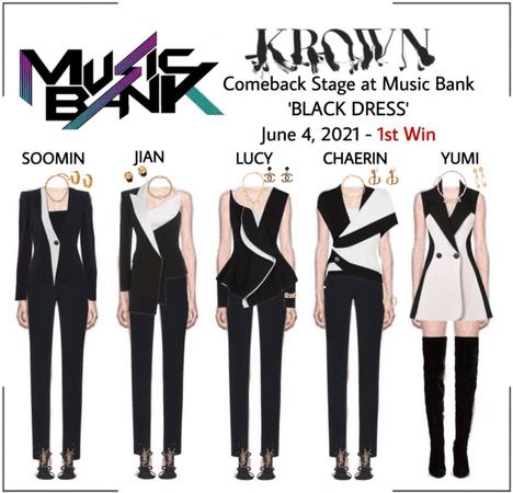 KROWN - Black Dress [Music Bank / 2021.06.04]
