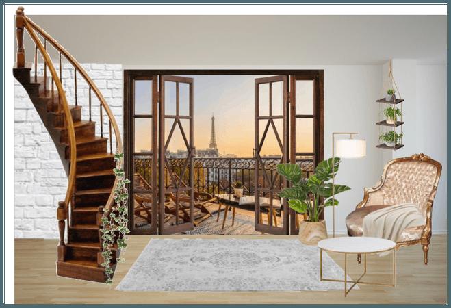 paris apartment for my new OC: Elina