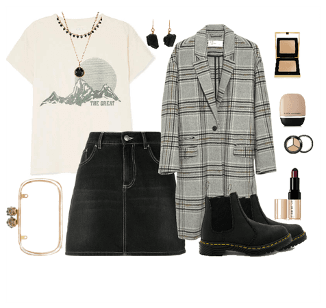 grunge chic outfit