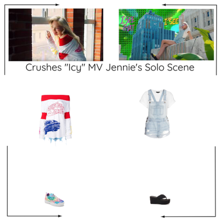 "Crushes (호감) ""쌀쌀한 (Icy)"" Jennie Solo Scene"