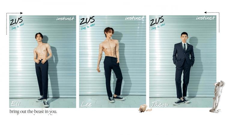 ZUS//'instinct' Lee, Eli & Jacob Teaser Photos