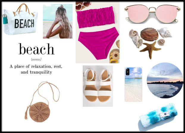beachy vibe