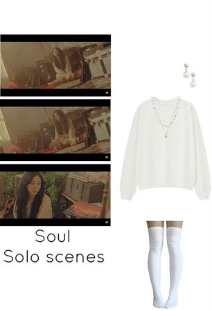 Secret MV- Soul solo scenes