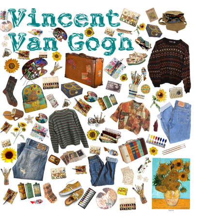 Vincent Van Gough mood board