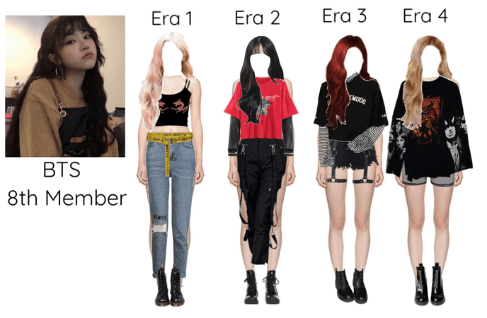 BTS 8th Member Through 4 Era's