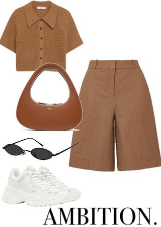 Brown summer fit