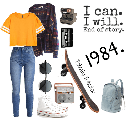 80's outfit