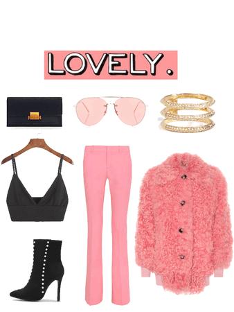 Pink + Black + Gold