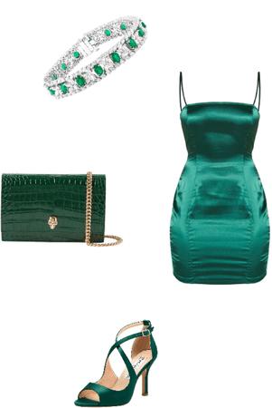 emerald green💚