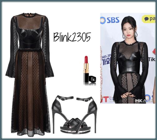 BLACKPINK JENNIE SBS GAYO DAEJUN 2018