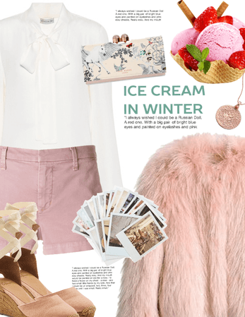 Icecream in winter