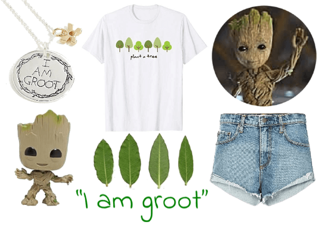 Groot on Earth Day
