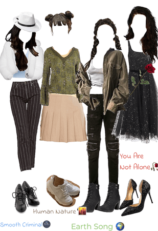 MJ Songs as Outfits * Pt.2 *
