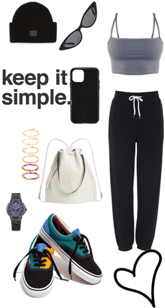 chill relax outfit