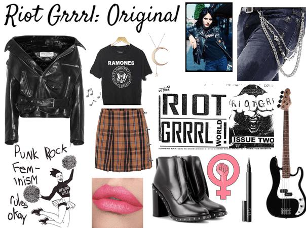 The Original Riot Grrrl