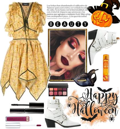 Stylish pumpkin - trick or treat